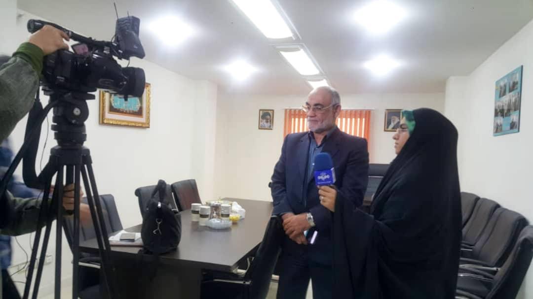 وهاب عزیزی دبیرکل جبهه جهادگران ایران اسلامی