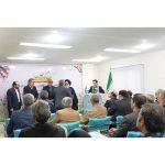 اهدای لوح تجلیل به جانباز فیض الله فرهنگ بعنوان خادم جهاد و شهادت در نشست شورای عالی شاهد و ایثارگر جهادگران