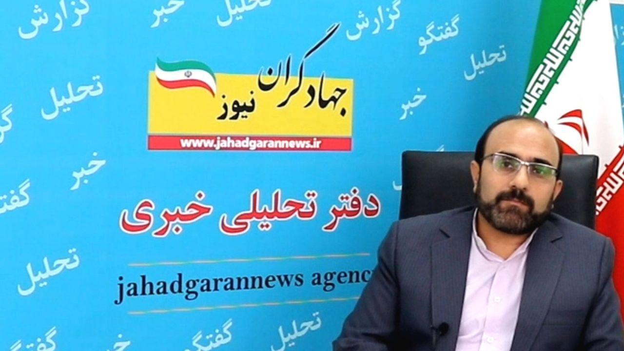 دکتر وهاب عزیزی دبیرکل جبهه جهادگران ایران اسلامی