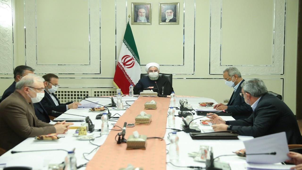 روحانی در جلسه کمیتههای تخصصی ستاد ملی مقابله با کرونا
