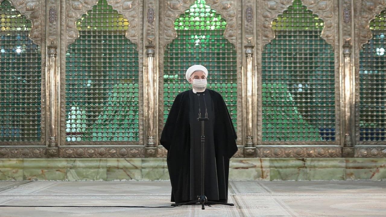 روحانی در مراسم تجدید میثاق با آرمانهای امام راحل