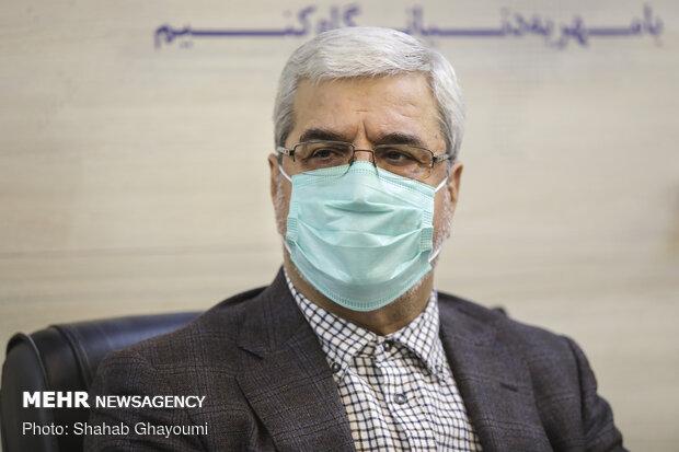 جمال عرف معاون سیاسی وزارت کشور و رئیس ستاد انتخابات
